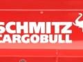 Siku 6727 - Elektronischer Kippsattelauflieger Schmitz Cargobull rot Control 32 Logo