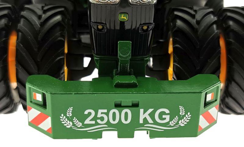 Siku 6735 - John Deere 7290R mit Doppelreifen - Control32 Gewicht nah