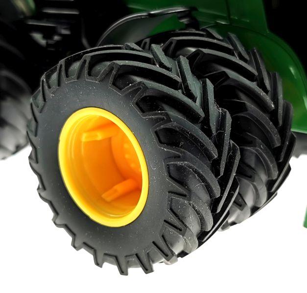 Siku 6735 - John Deere 7290R mit Doppelreifen - Control32 Reifen vorne