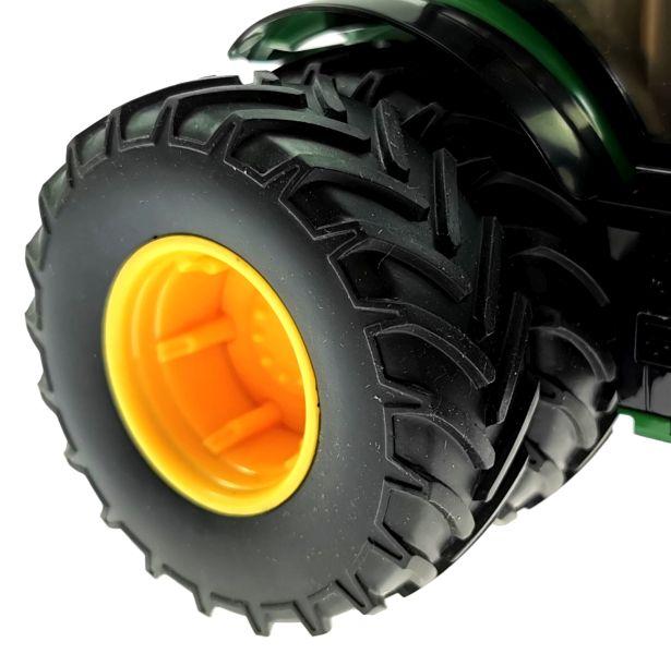 Siku 6735 - John Deere 7290R mit Doppelreifen - Control32 Reifen hinten