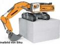 Siku 6740 - Liebherr R980 SME Raupenbagger Control 32 Schaufel unten