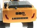 Siku 6740 - Liebherr R980 SME Raupenbagger Control 32 hinten nah