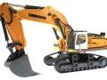Siku 6740 - Liebherr R980 SME Raupenbagger Control 32 unten vorne links