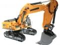 Siku 6740 - Liebherr R980 SME Raupenbagger Control 32 vorne rechts