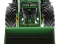 Siku 6777 - John Deere 7R mit Frontlader vorne unten