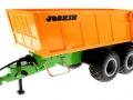 Siku 6780 - Tandem-Achs-Anhänger Joskin - Control 32 vorne links