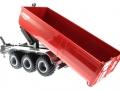 Siku 6786 - Krampe 3-Achs Hakenliftfahrgestell mit Mulde gekippt