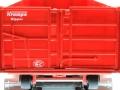 Siku 6786 - Krampe 3-Achs Hakenliftfahrgestell mit Mulde Ladetüren
