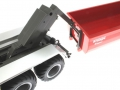 Siku 6786 - Krampe 3-Achs Hakenliftfahrgestell mit Mulde Schwenkarm