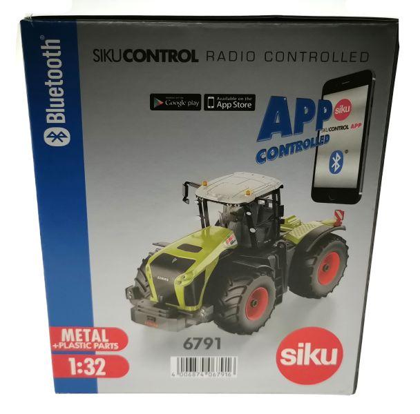 Siku 6794 - Claas Xerion 5000 TRAC VC Control 32 mit Fernsteuerung Karton Seite