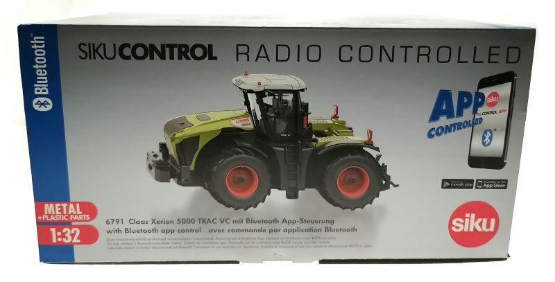 Siku 6794 - Claas Xerion 5000 TRAC VC Control 32 mit Fernsteuerung karton vorne