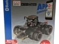 Siku 6799 - Claas Xerion 5000 Schwarz mit Doppelreifen Karton links