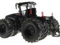 Siku 6799 - Claas Xerion 5000 Schwarz mit Doppelreifen unten hinten links