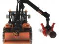 Siku 8509 - Forsttraktor Deutz-Fahr X720 - Autodrom hinten mit Stamm