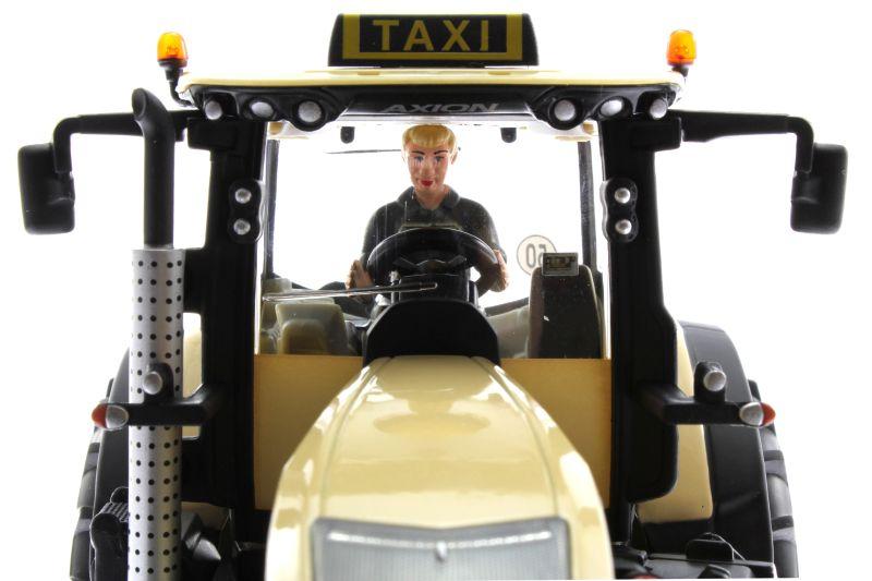 Siku 8513 - Claas 950 Axion Taxi - Autodrom - vorne oben