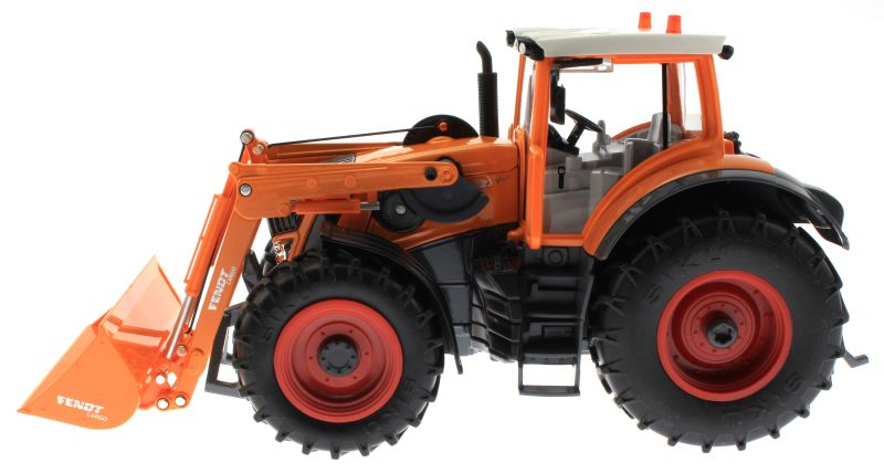 Siku 8515 - Fendt 927 Vario mit Frontlader Control 32 - Autodrom Kommunal in Orange links