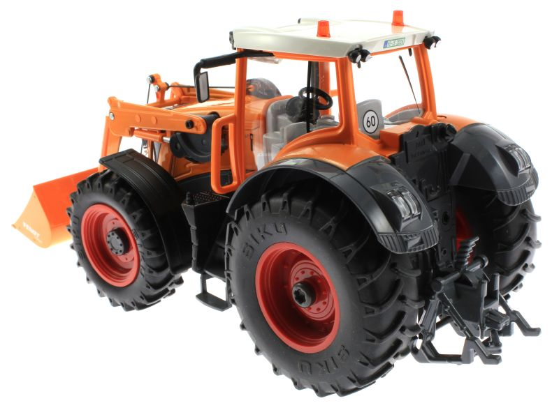Siku 8515 - Fendt 927 Vario mit Frontlader Control 32 - Autodrom Kommunal in Orange oben hinten links
