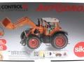 Siku 8515 - Fendt 927 Vario mit Frontlader Control 32 - Autodrom Kommunal in Orange Karton vorne