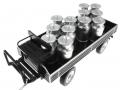 Siku 8602 - Lanz Bulldog mit klassischem Anhänger - Blackline Hänger