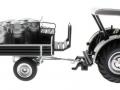 Siku 8602 - Lanz Bulldog mit klassischem Anhänger - Blackline