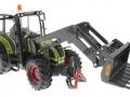 Siku 8856 - Claas Traktor Set 125 Jahre Karstadt mit Gabel