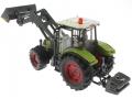 Siku 8856 - Claas Traktor Set 125 Jahre Karstadt mit Schaufel hinten links