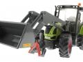 Siku 8856 - Claas Traktor Set 125 Jahre Karstadt mit Schaufel unten vorne links