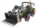 Siku 8856 - Claas Traktor Set 125 Jahre Karstadt mit Schaufel vorne links