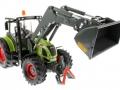 Siku 8856 - Claas Traktor Set 125 Jahre Karstadt mit Schaufel vorne rechts