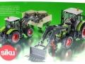 Siku 8856 - Claas Traktor Set 125 Jahre Karstadt Karton hinten