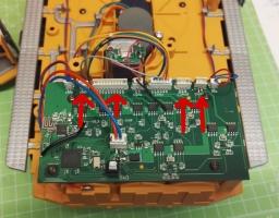 Fahrer Figur Einbau für den Siku Liebherr Bagger 6740 Kabel