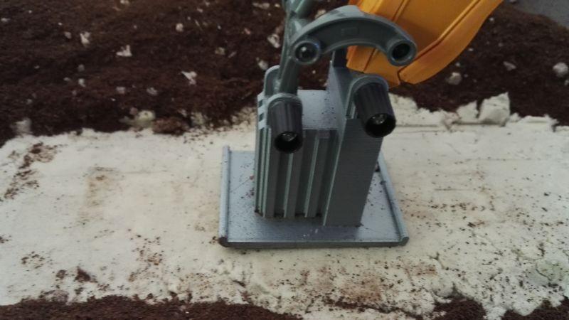 Siku Control 32 Liebherr Bagger mit Befestiger