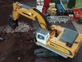 Siku Control 32 Liebherr Bagger mit Sieb-Schaufel von oben