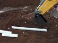 Siku Control 32 Liebherr Bagger mit Rohr Schaufel