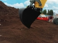 Siku Control 32 Liebherr Bagger mit Dreieck Löffel