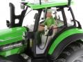 Siku - Deutz-Fahr Agrotron 7210 TTV Zwolle LCN 2015 Fahrer