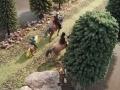 Reiter auf Pferden 1:32