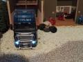 Siku LKW Scania mit Bügel