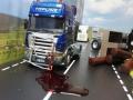 Siku Control LKW Unfall Wildunfall mit Blut