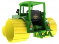 Siku Moorbuldog Set Traktorado 2008 - Hannomag R45 unten hinten links