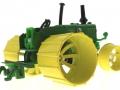Siku Moorbuldog Set Traktorado 2008 - Lanz Bulldog unten hinten rechts