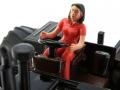 Siku MB Trac 1800 Intercooler mit Ballonbereifung - Traktorado 2016 Fahrerin nah