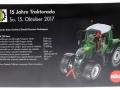 Siku Sondermodell - Fendt 720 Vario Nature Green Traktorado 2017 Karton hinten