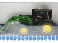 Siku zlf2004 - John Deere 5720 mit Ballenzange und Gewicht ZLF 2004 Karton vorne