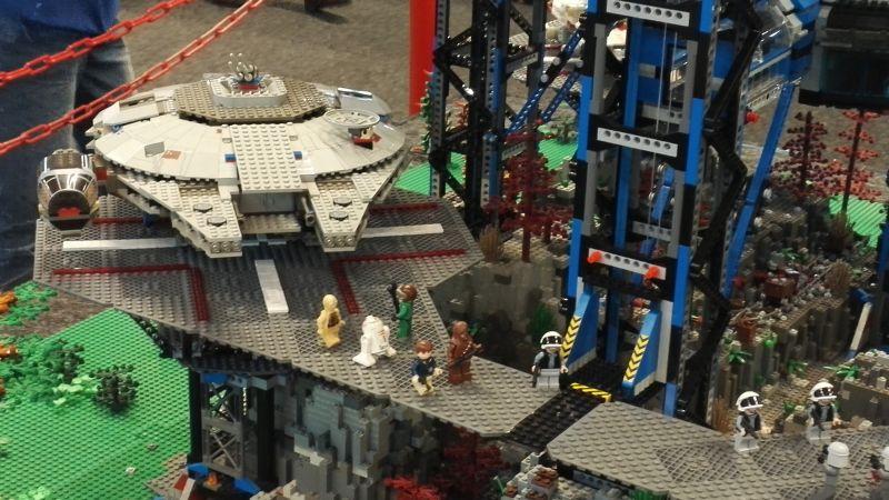 Spielidee Rostock 2016 - Starwars aus Lego