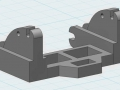 3D-Druck Modell - Siku Control 32 John Deere 7R Adapter links