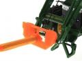 Tragdorn Orange für Siku 6777 John Deere 7R mit Frontlader Control 32 nah