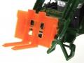 Palettengabel Orange für Siku-6777 John Deere 7R mit Frontlader Control 32 nah schmal