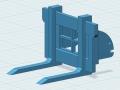 Palettengabel 3D vorne