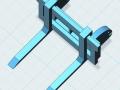 Palettengabel 3D oben
